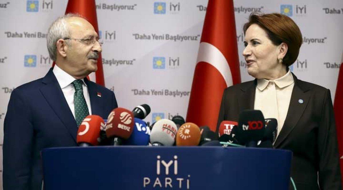 CHP ve İyi Parti den Millet İttifakı açıklaması: İktidara geliyoruz #1