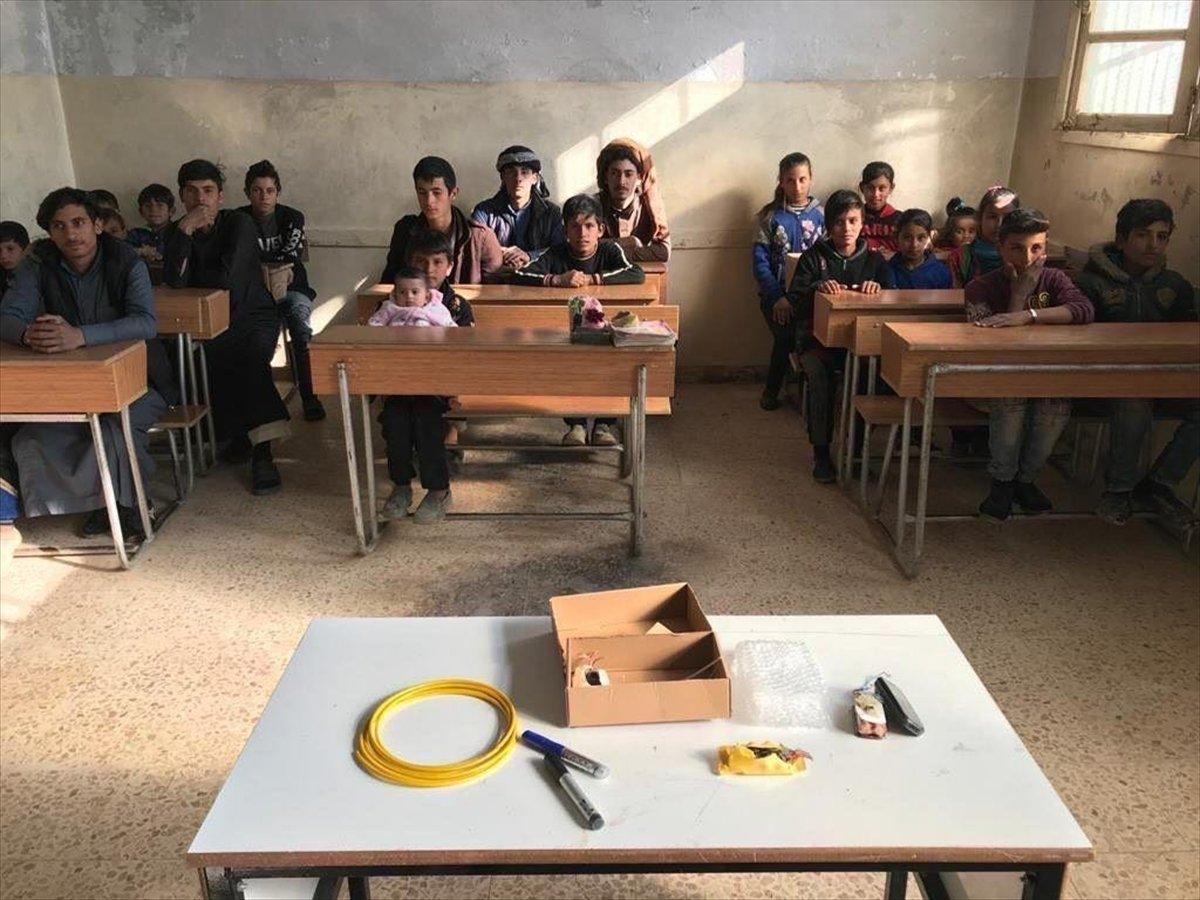 Suriyeli çocuklara mayın ve EYP eğitimi #2