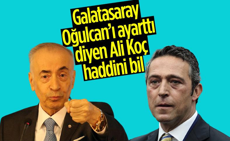 Mustafa Cengiz'den Ali Koç'a yanıt: Haddini bileceksin