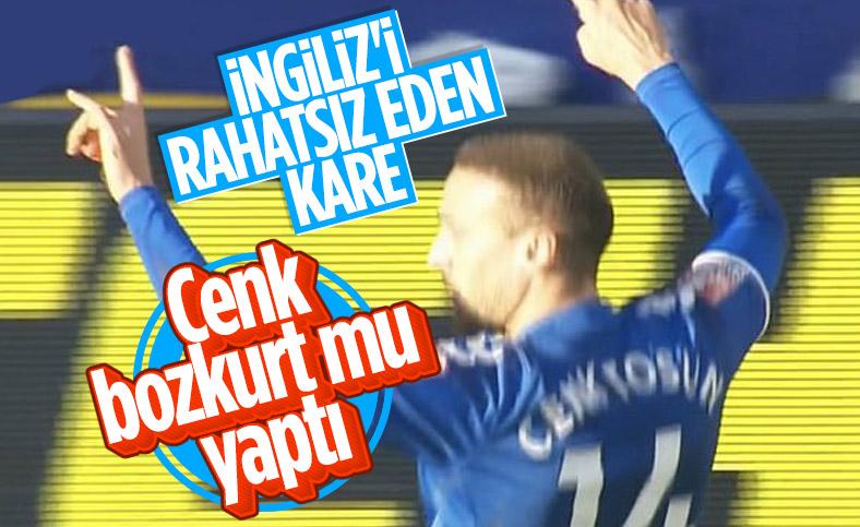 Cenk Tosun'un gol sevinci tartışma konusu oldu