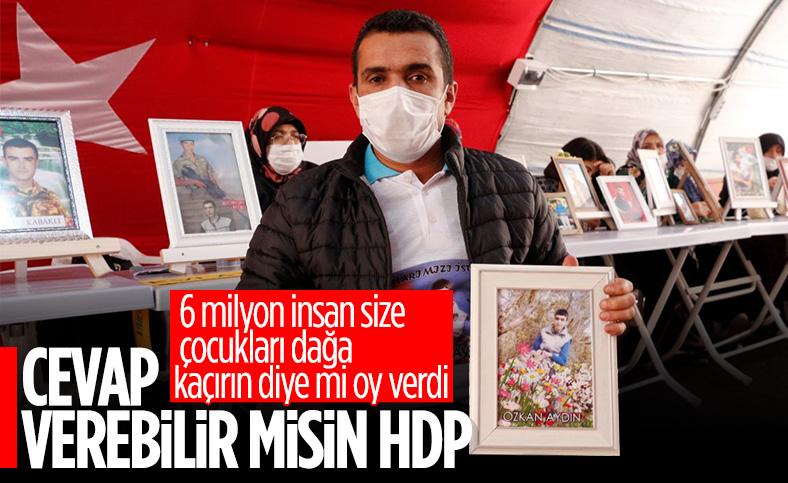 Diyarbakır'daki baba: Nereye kadar Kandil'e vekillik yapacaksınız