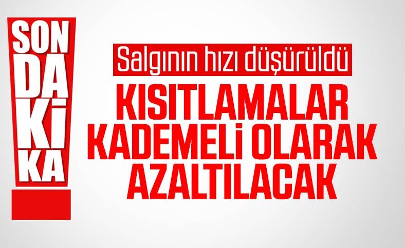 Cumhurbaşkanı Erdoğan: Kısıtlamaları kademeli olarak kaldıracağız
