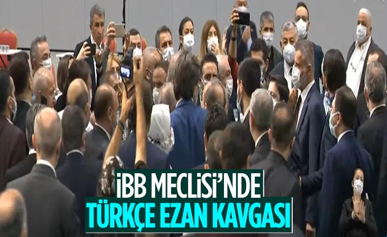 Tevfik Göksu konuştu, CHP'li üyeler belediye meclisi oturumunu terk etti