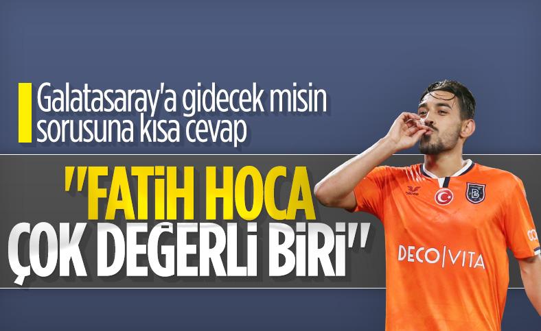 İrfan Can'a 'Galatasaray'a gidecek misin' diye soruldu