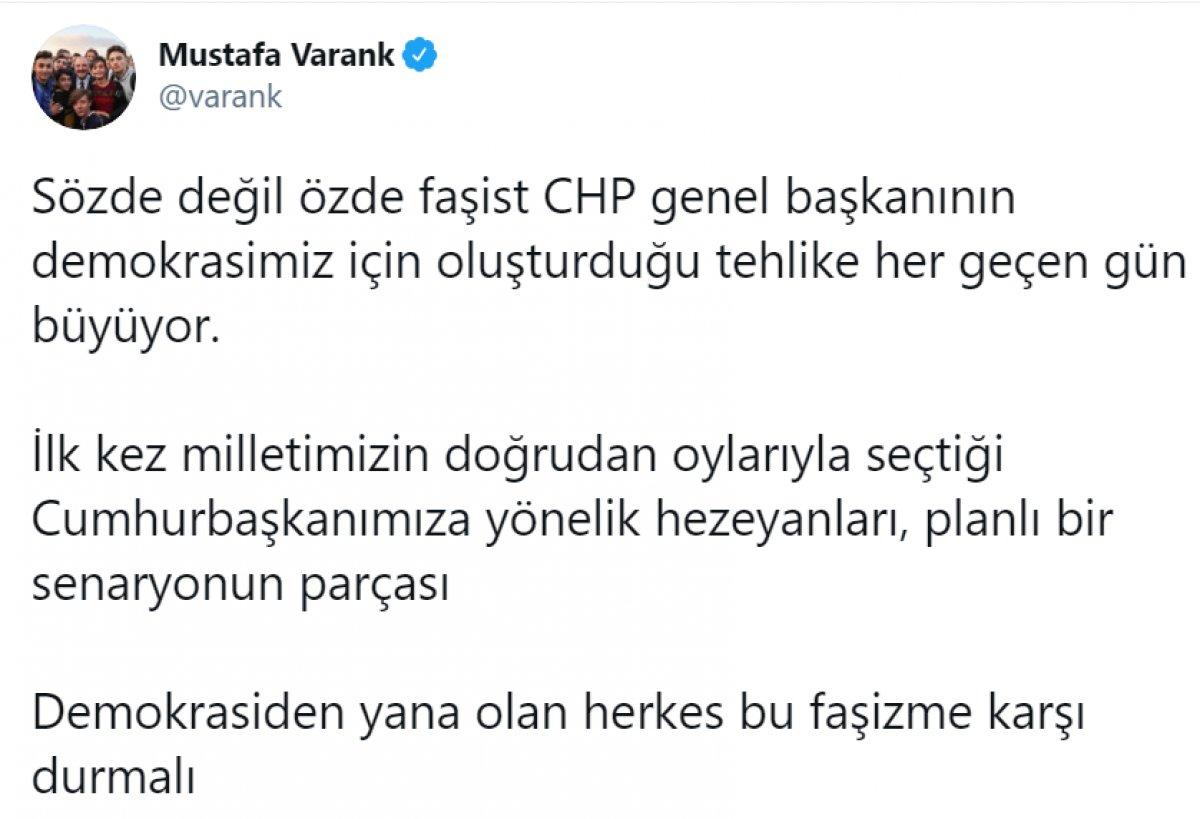 Kılıçdaroğlu nun,  sözde cumhurbaşkanı  sözü, büyük tepki topladı #12