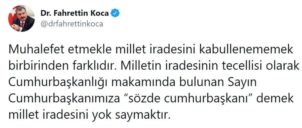 Kılıçdaroğlu nun,  sözde cumhurbaşkanı  sözü, büyük tepki topladı #19