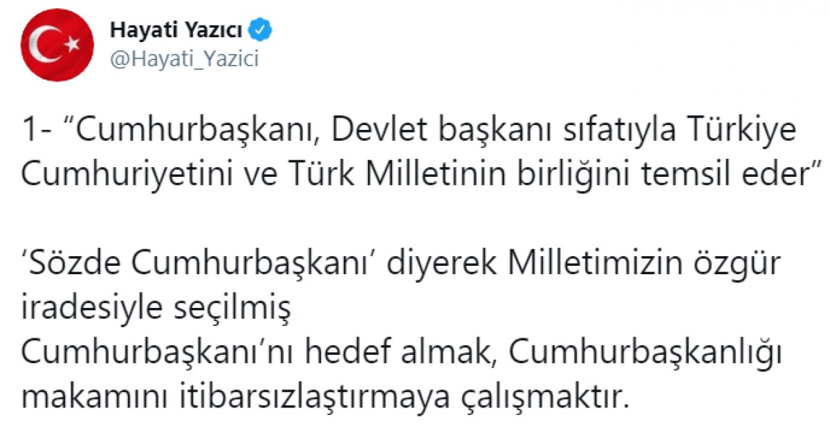 Kılıçdaroğlu nun,  sözde cumhurbaşkanı  sözü, büyük tepki topladı #17