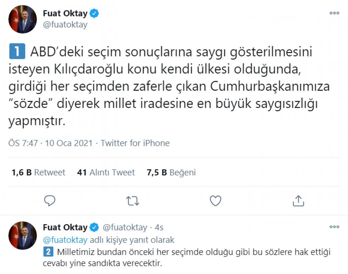 Kılıçdaroğlu nun,  sözde cumhurbaşkanı  sözü, büyük tepki topladı #4