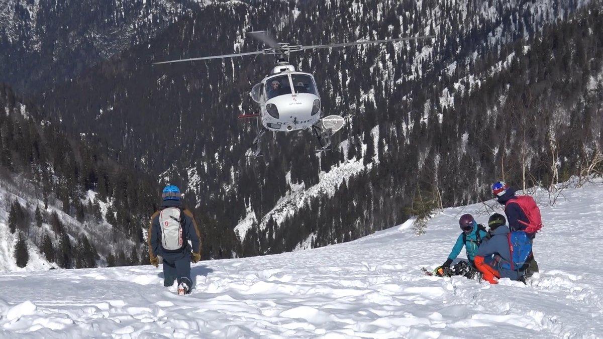 Kaçkarlar da yapılacak helikopterle kayak sporu, Rize yi hareketlendirdi #3