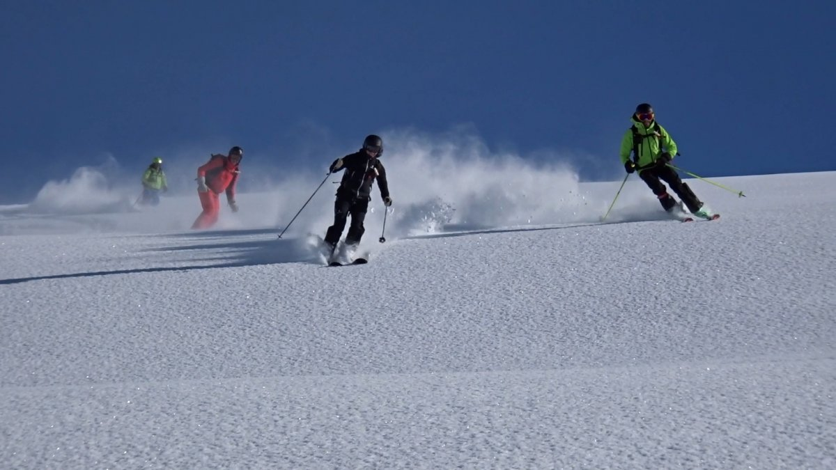 Kaçkarlar da yapılacak helikopterle kayak sporu, Rize yi hareketlendirdi #2