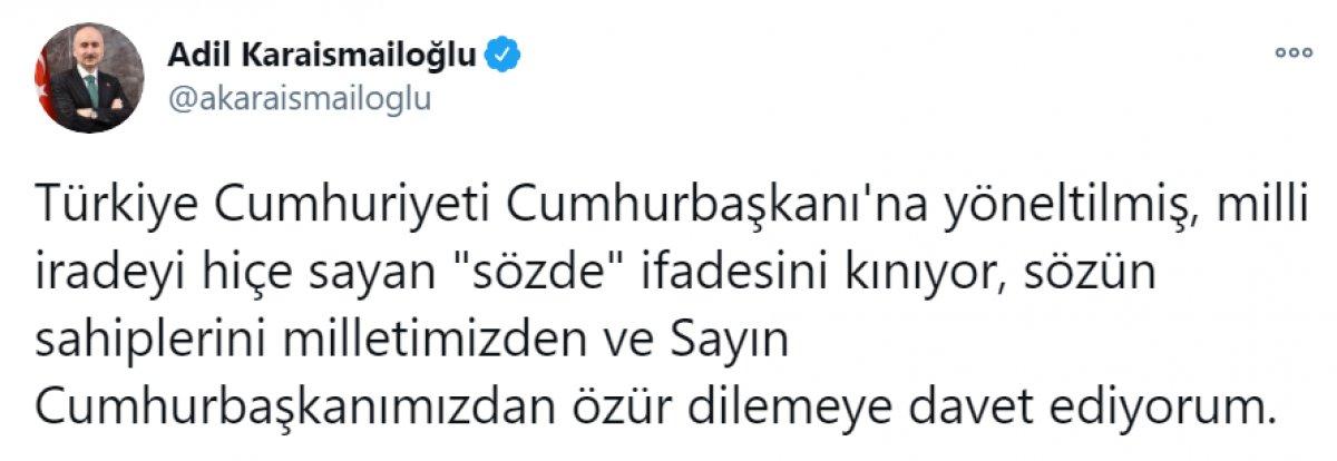 Kılıçdaroğlu nun,  sözde cumhurbaşkanı  sözü, büyük tepki topladı #13