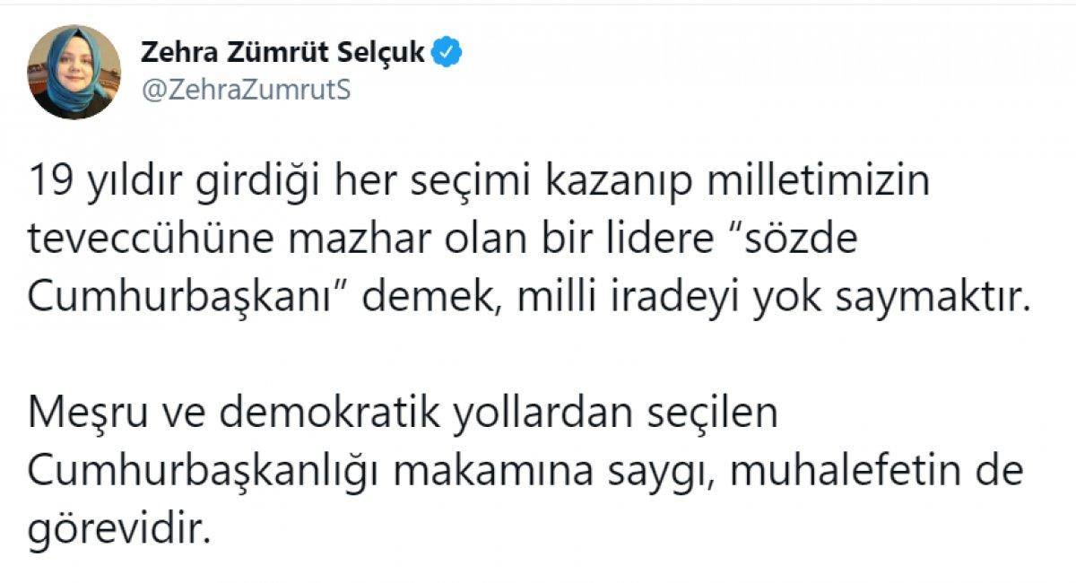 Kılıçdaroğlu nun,  sözde cumhurbaşkanı  sözü, büyük tepki topladı #11