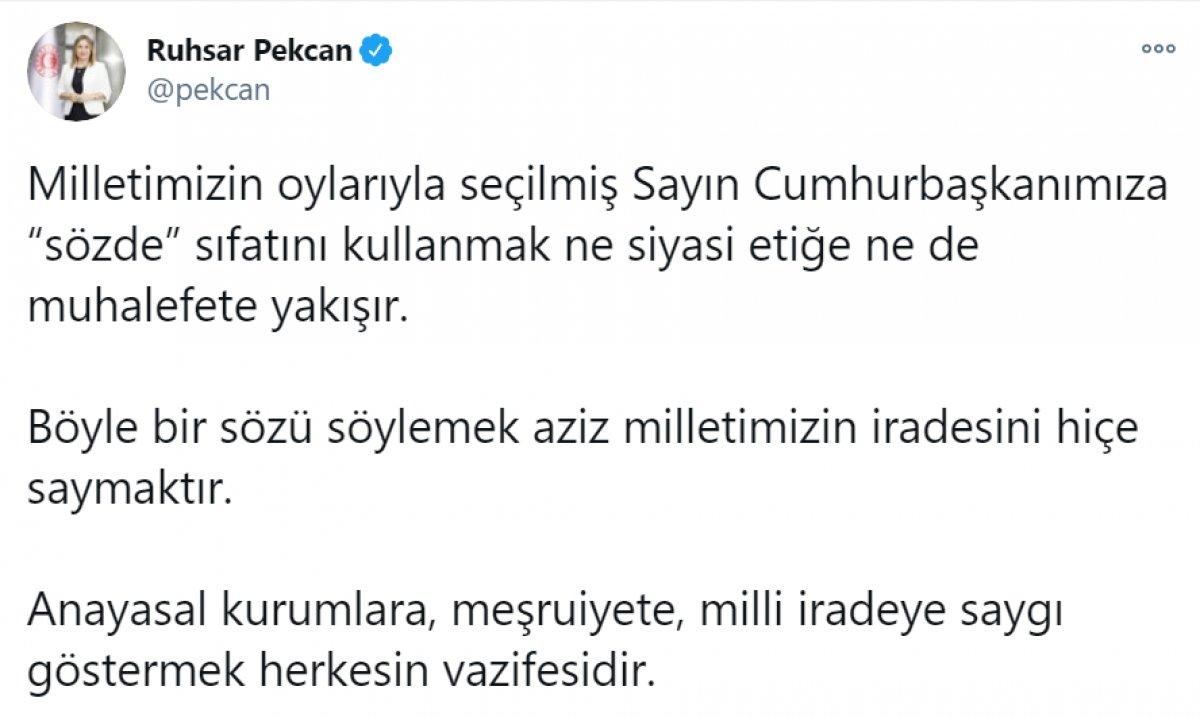 Kılıçdaroğlu nun,  sözde cumhurbaşkanı  sözü, büyük tepki topladı #16