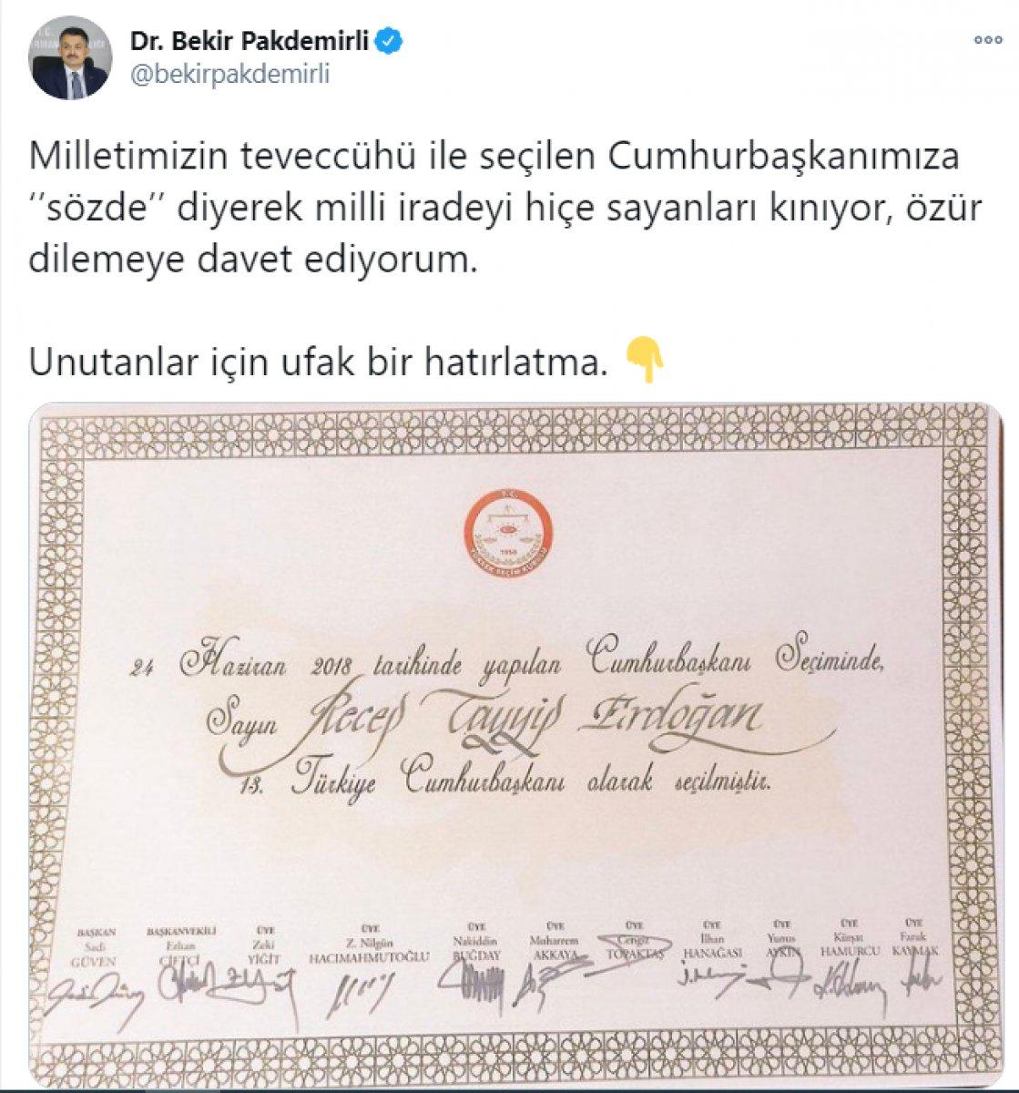 Kılıçdaroğlu nun,  sözde cumhurbaşkanı  sözü, büyük tepki topladı #14