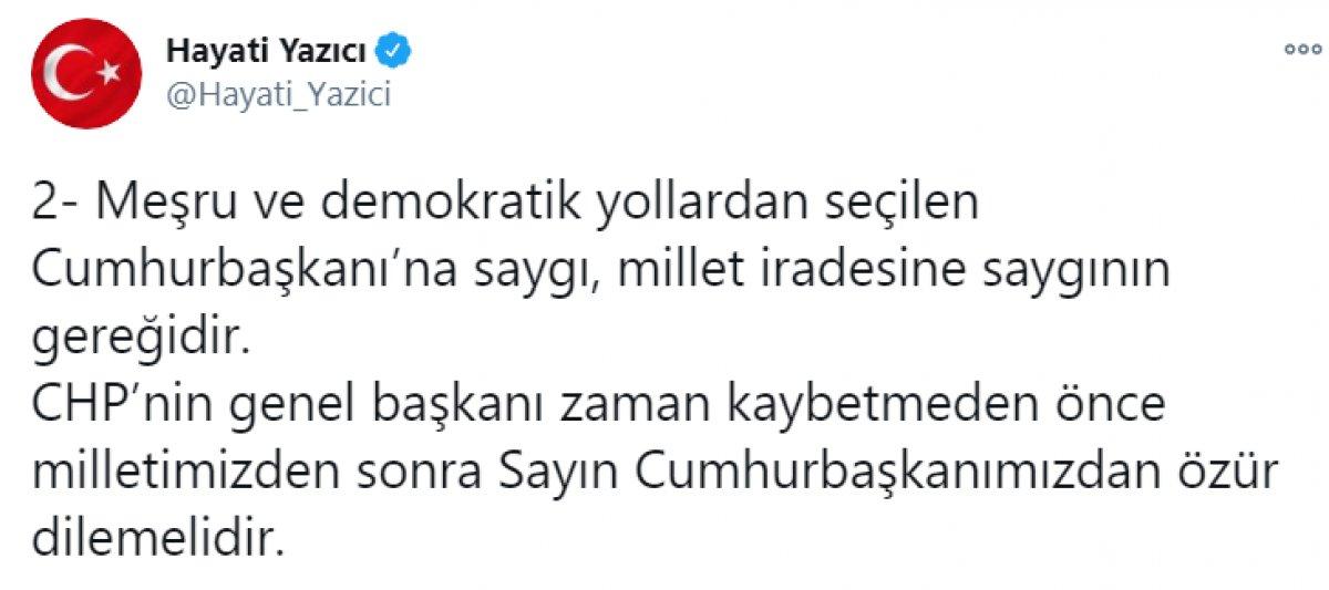 Kılıçdaroğlu nun,  sözde cumhurbaşkanı  sözü, büyük tepki topladı #18