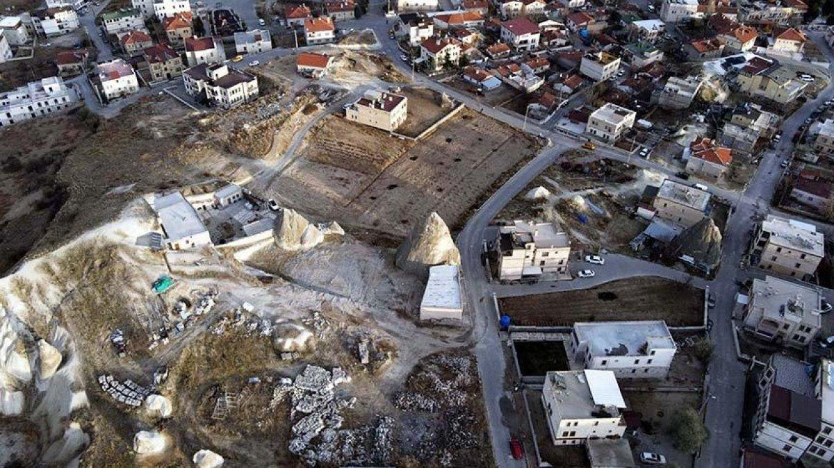 Kapadokya da son 2 yılda 310 izinsiz yapı yıkıldı #4