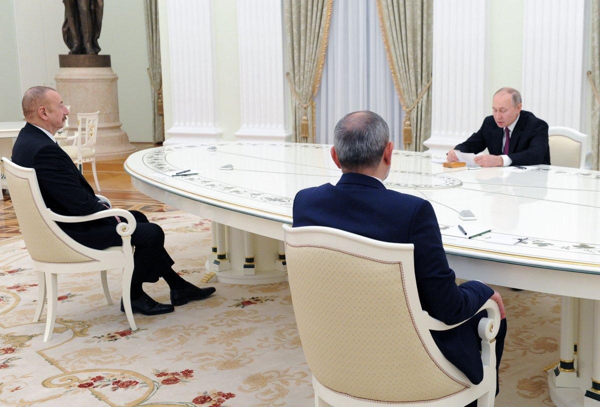 Moskova da üçlü Karabağ görüşmesi başladı #2