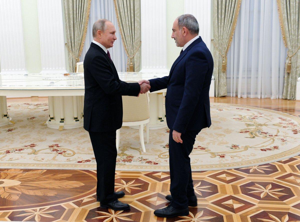 Moskova da üçlü Karabağ görüşmesi başladı #3