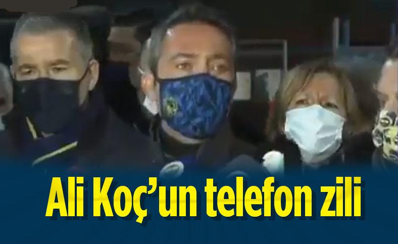 Ali Koç'un telefon zili gündem oldu