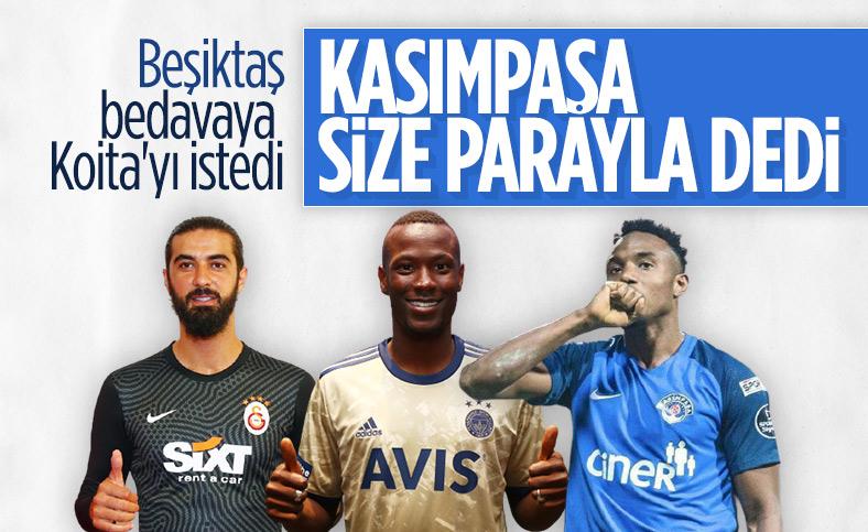 Kasımpaşa Koita için Beşiktaş'tan 1 milyon euro istedi