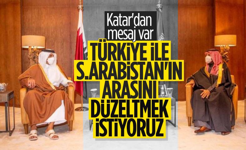 Katar'dan, S.Arabistan'ın Türkiye ile ilişkileri için arabuluculuk mesajı