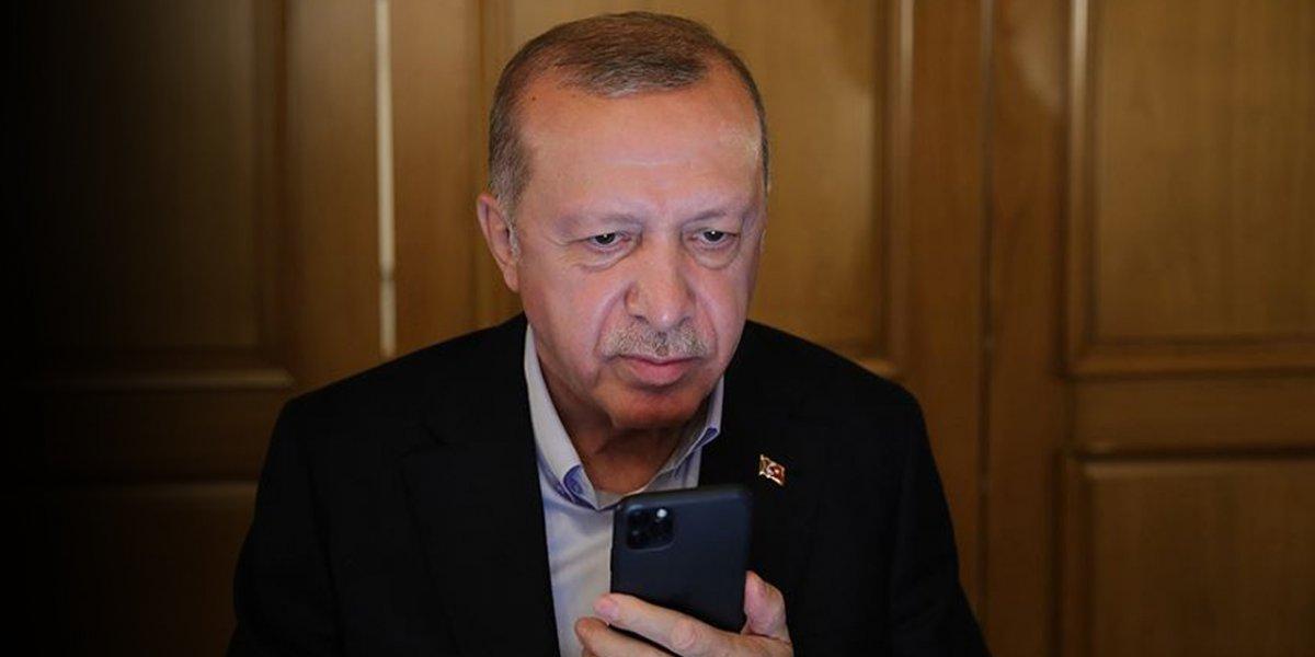 Cumhurbaşkanı Erdoğan BiP ve Telegram'da #1