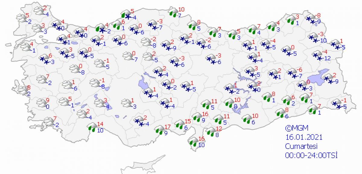 İstanbul için yağmur uyarısı # 7