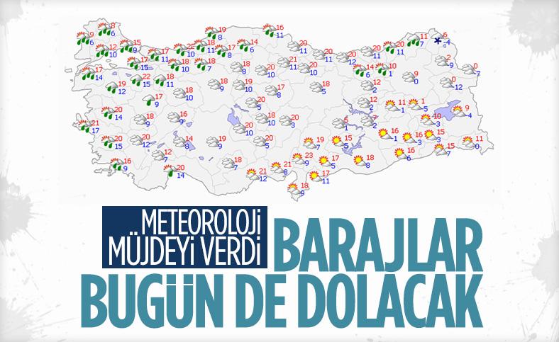 İstanbul için yağmur uyarısı