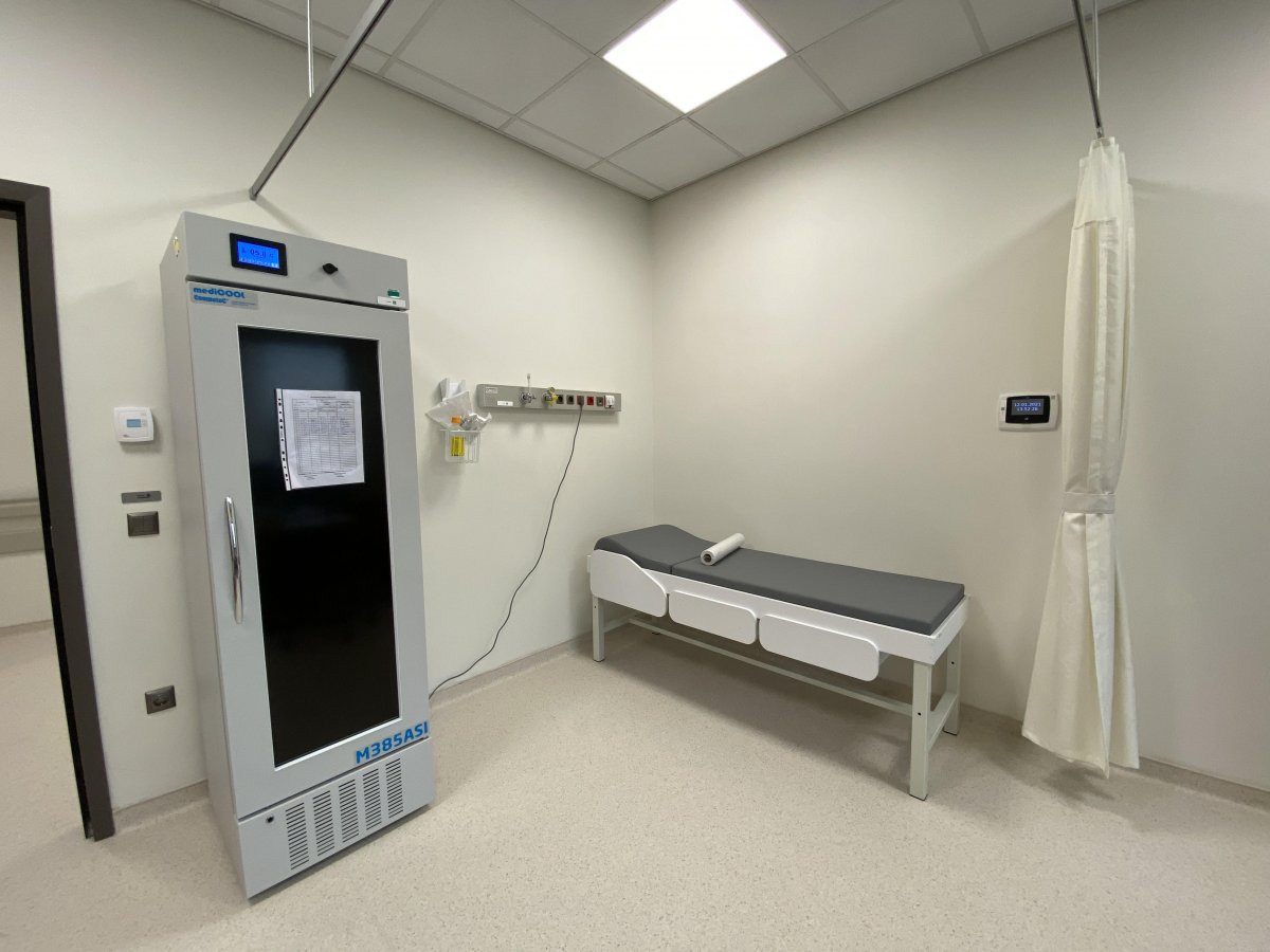 İstanbul da koronavirüs aşısı için odalar hazırlandı #2