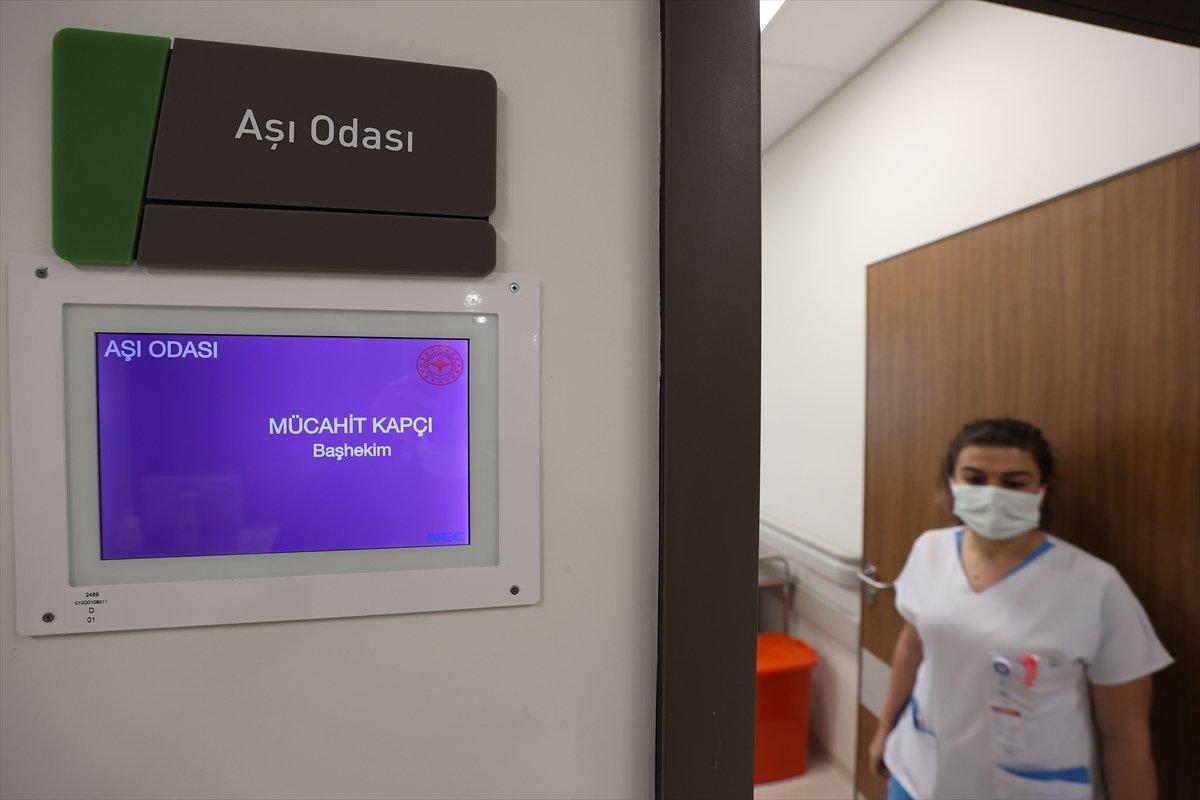 İstanbul da koronavirüs aşısı için odalar hazırlandı #7