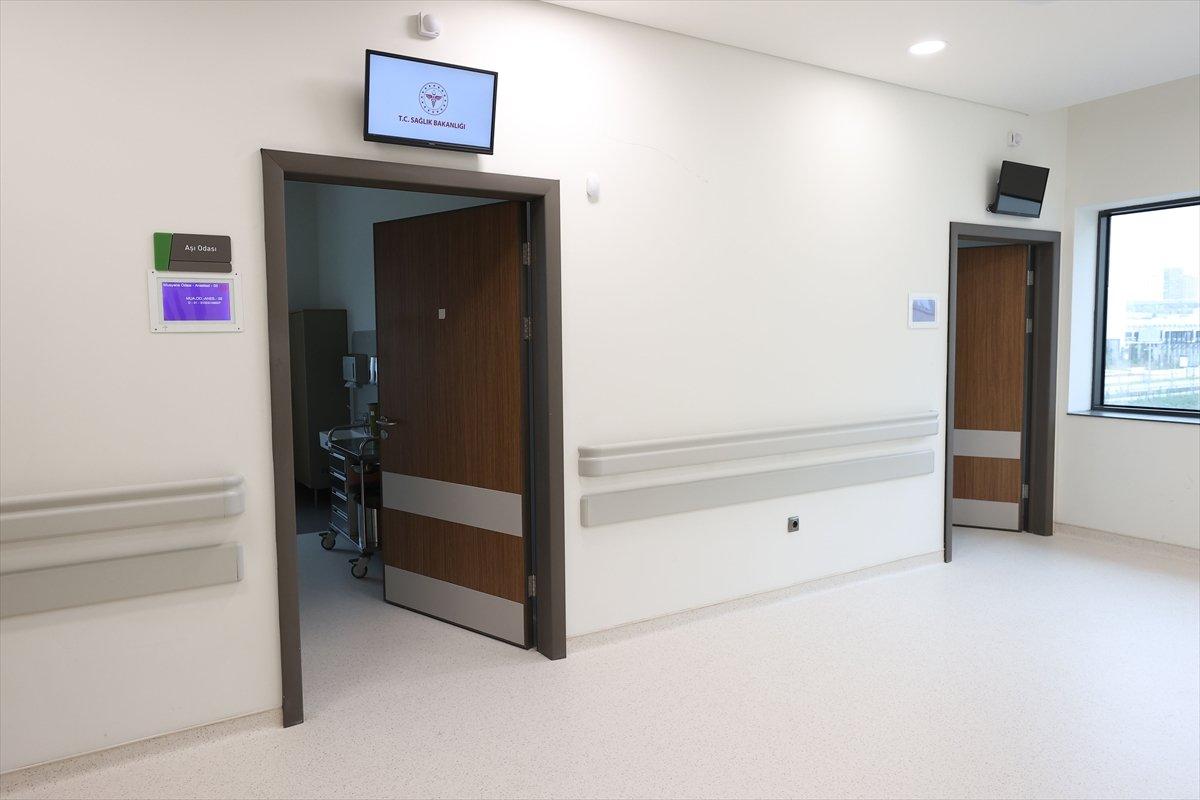 İstanbul da koronavirüs aşısı için odalar hazırlandı #8
