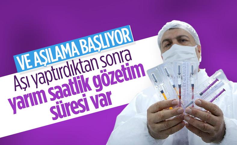 İstanbul'da koronavirüs aşısı için odalar hazırlandı
