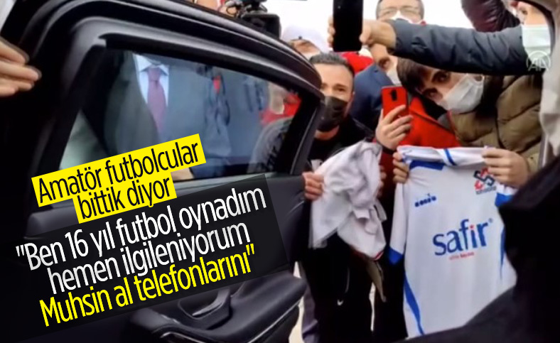 Cumhurbaşkanı Erdoğan'dan amatör futbol talimatı