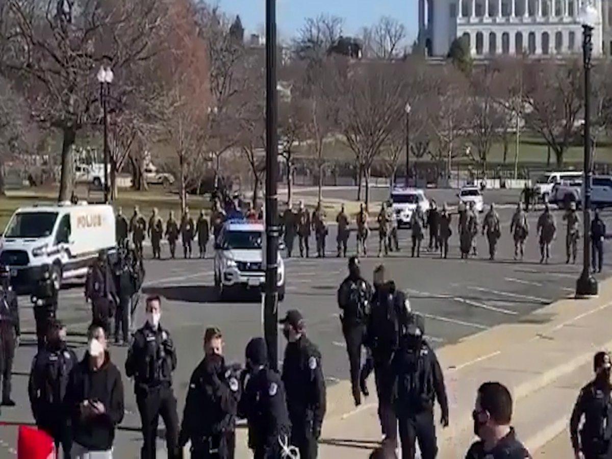 Donald Trump destekçileri, Washington da toplanıyor #3