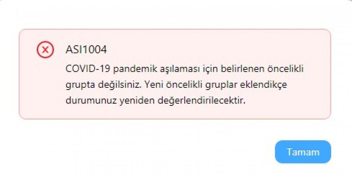 Türkiye de korona aşısı randevuları başladı #2
