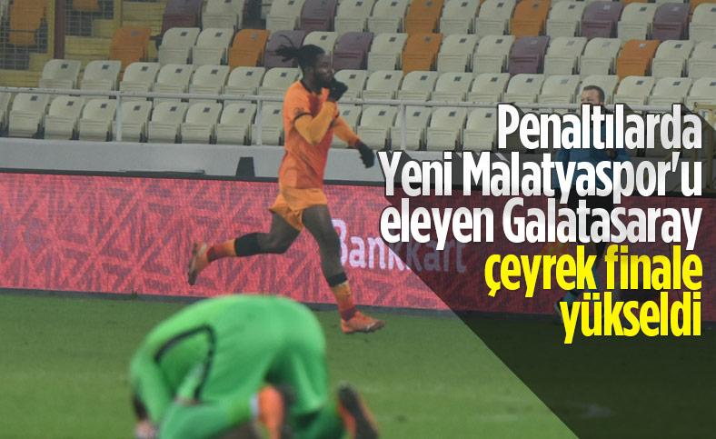 Galatasaray, çeyrek finalde
