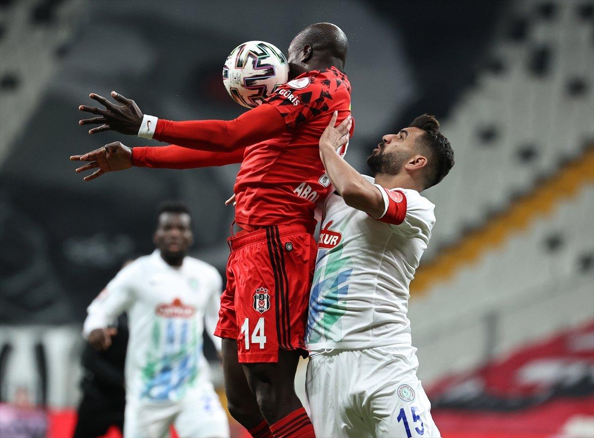 Beşiktaş Türkiye Kupası nda çeyrek finale yükseldi #1