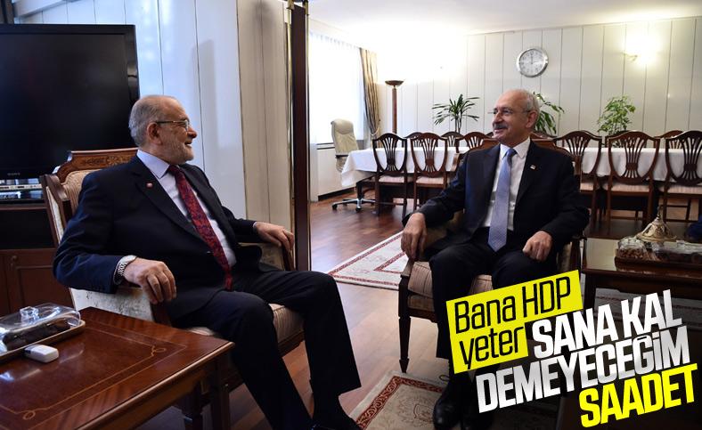 Kemal Kılıçdaroğlu Saadet Partisi'nin ittifaktaki yerini değerlendirdi
