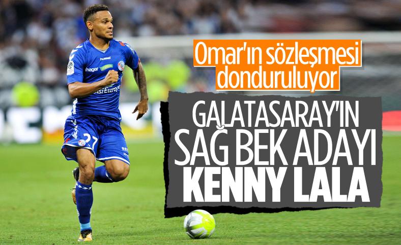 Galatasaray sağ bek için Kenny Lala'yı istiyor