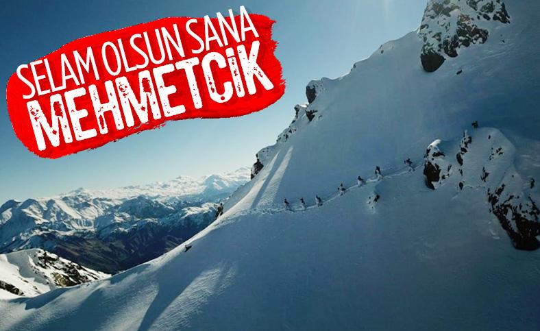 Mehmetçik'in bulunduğu üs bölgelerinde kar kalınlığı 1.5 metreyi geçti