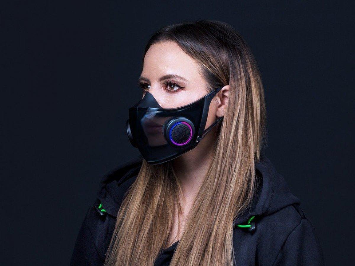Razer, dünyanın en akıllı maskesini CES 2021 de tanıttı #2