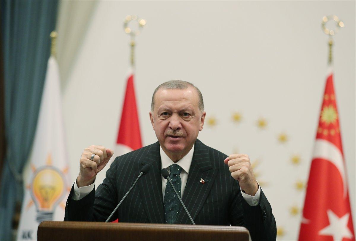 Cumhurbaşkanı Erdoğan dan Kılıçdaroğlu na: Allah ın verdiği havayı boşa tüketiyorsun #1