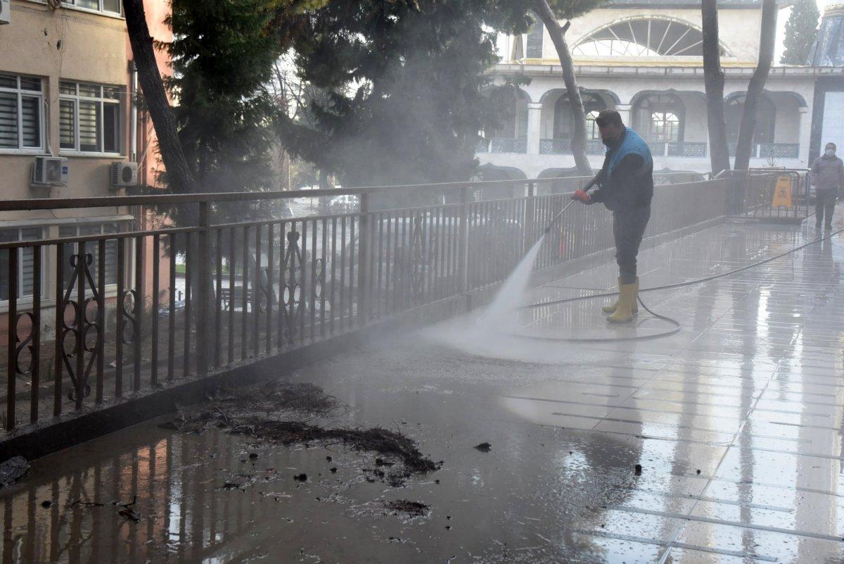 Manisa'da sel felaketinin şiddeti kamerada #5