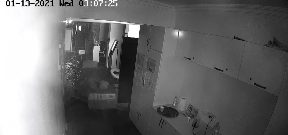 Manisa'da sel felaketinin şiddeti kamerada #2