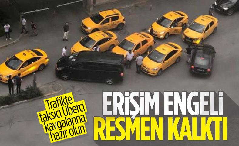Uber'e Türkiye'de uygulanan erişim engeli kaldırıldı