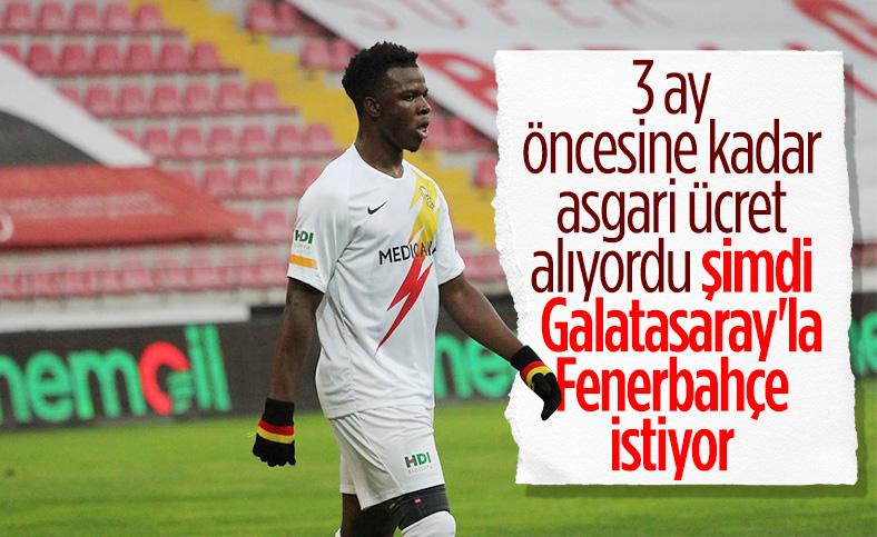 Galalatasaray ile Fenerbahçe'nin Youssouf savaşı