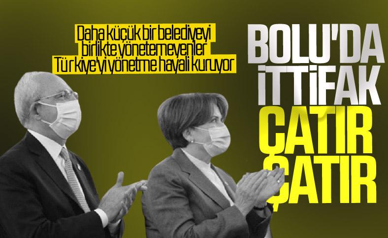 Bolu Belediyesi'nde Millet İttifakı kavgası