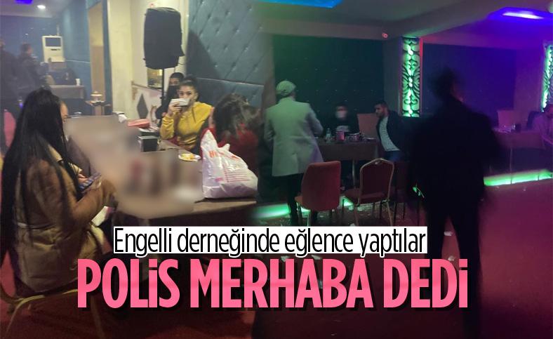 Diyarbakır'da engelli derneğinde alkollü eğlence yapıldı
