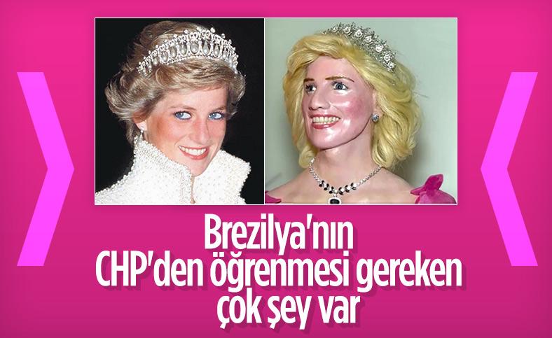 Prenses Diana'nın balmumu heykeline tepki