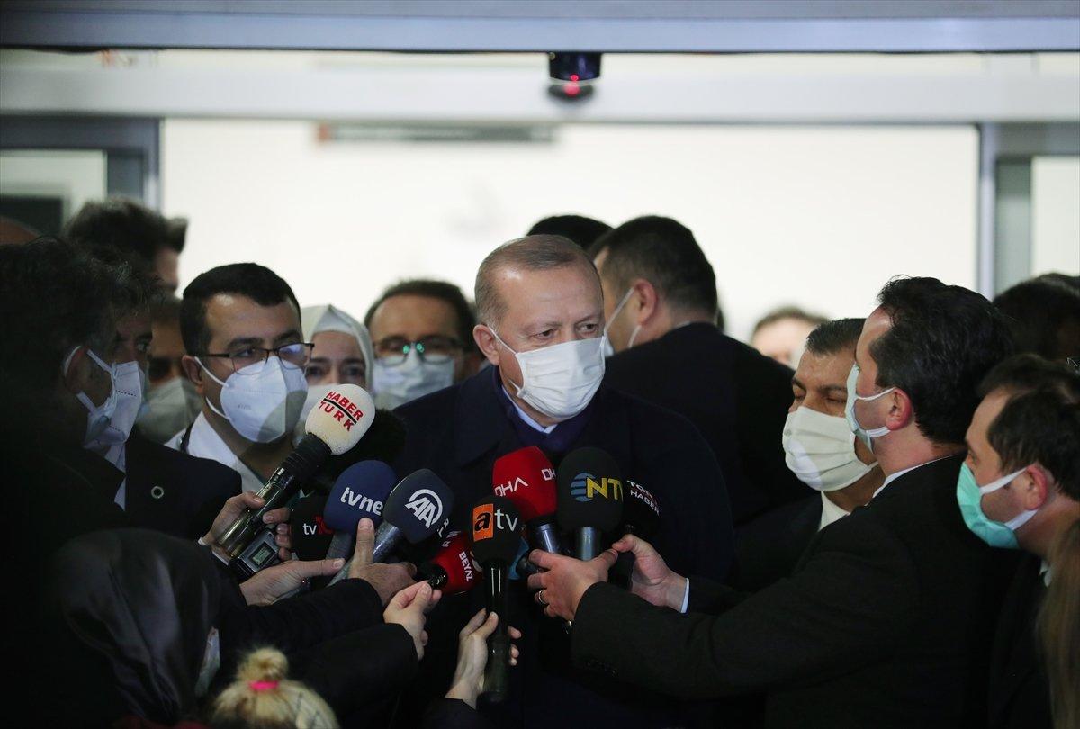 Erdoğan: Diğer siyasi parti liderlerinin de aşı yaptırmasını tavsiye ediyorum #3